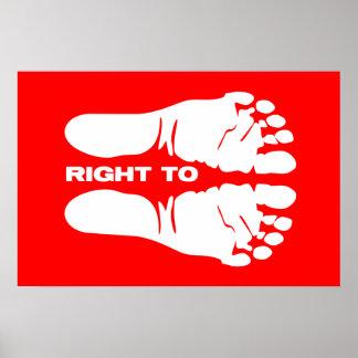 ¡Derecho a la vida! Póster