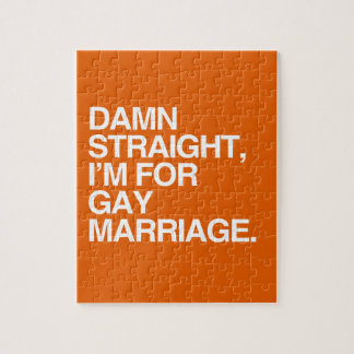 DERECHO estoy PARA EL MATRIMONIO HOMOSEXUAL Rompecabezas
