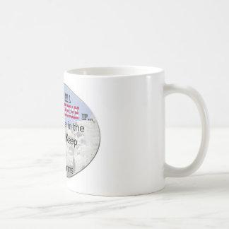 derecho guardar y llevar los brazos tazas de café