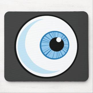 Derecho-Libre-RF-Copyright-seguro-azul-ojo-Ball EY Alfombrilla De Ratones