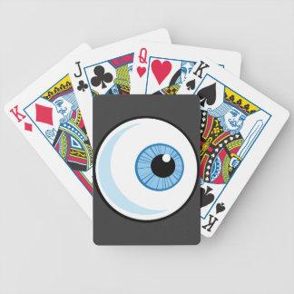 Derecho-Libre-RF-Copyright-seguro-azul-ojo-Ball EY Baraja De Cartas
