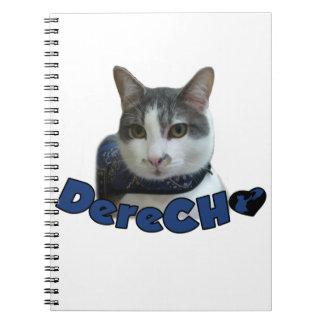 Derecho Products Notebook