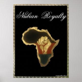 Derechos de Nubian Poster