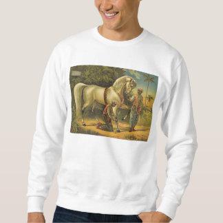 Derechos del caballo de la CAMISETA Sudadera