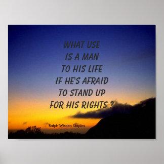 Derechos humanos póster