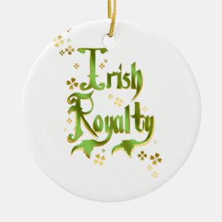 Derechos irlandeses ornamentos de reyes
