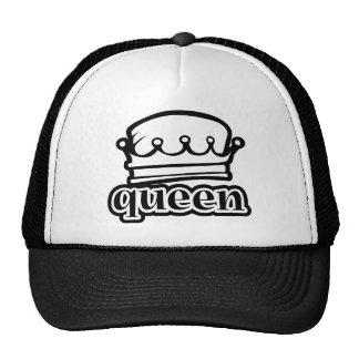 Derechos reales de la corona del ~ de la reina gorros bordados