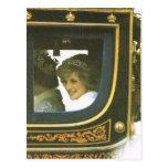 Derechos, reina y Diana del vintage Tarjetas Postales