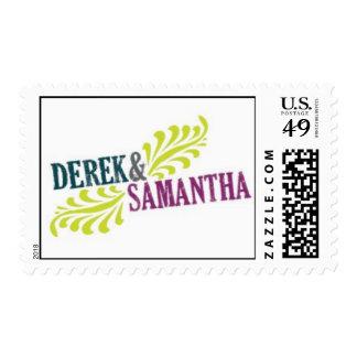 Derek and Samantha Postage