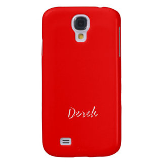 Derek Intense Red Samsung Galaxy S4 case