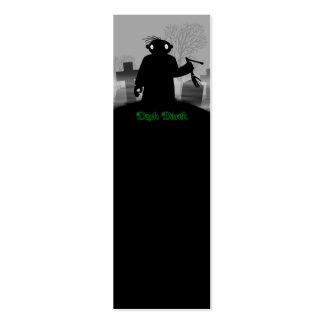 Derek oscuro - cementerio tarjetas de visita mini