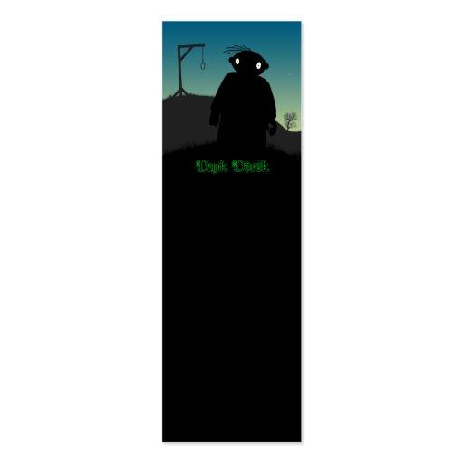 Derek oscuro - horca tarjetas de visita mini