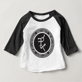 Derek R. Audette Logo Baby Raglan Baby T-Shirt