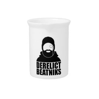 Derelict Beatniks Drink Pitcher