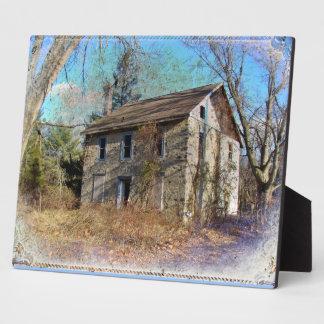 Derelict Farmhouse on Upper Ridge Road Photo Plaques