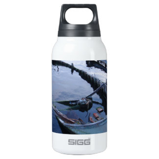 Derelict Fishing Boat Insulated Water Bottle
