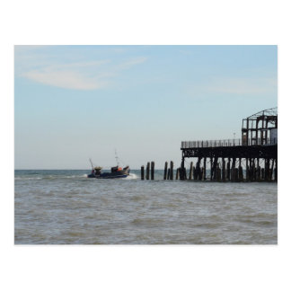 Derelict Pier Postcard