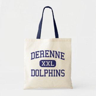 DeRenne Dolphins Middle Savannah Georgia Tote Bags