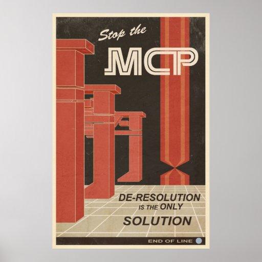 Deresolution es la única solución póster