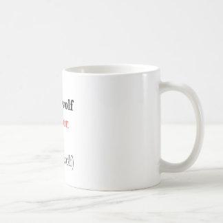 derewolf classic white coffee mug