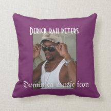 Derick rah throw pillow