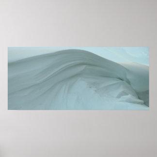 Deriva de la nieve póster