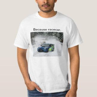 Deriva de la reunión de Subaru porque Racecar Playera