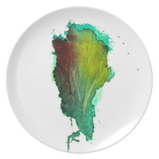 'Derivative' Melamine Plate
