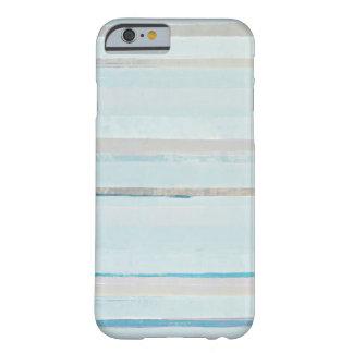 """""""Derive"""" la caja azul del iPhone del arte Funda Para iPhone 6 Barely There"""
