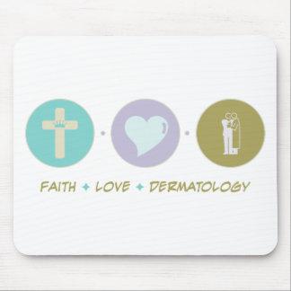 Dermatología del amor de la fe tapetes de ratones