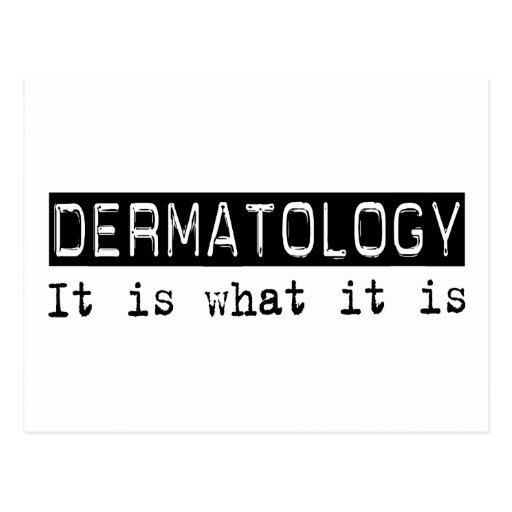 Dermatología es postal