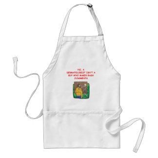 dermatologist apron