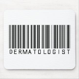 Dermatologist Bar Code Mouse Pad