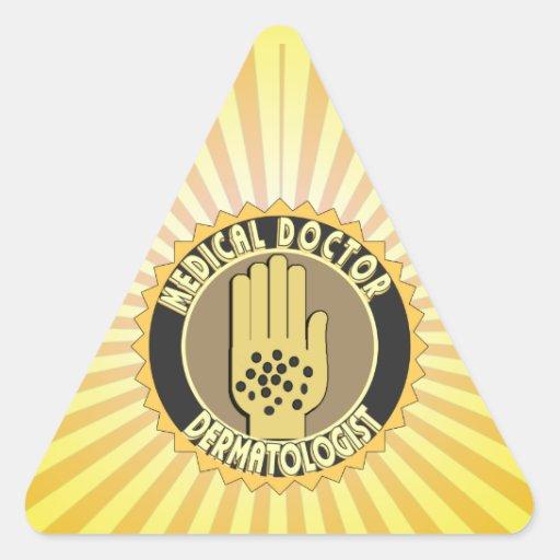 Dermatology Symbol Dermatologist logo triangleDermatologist Logo