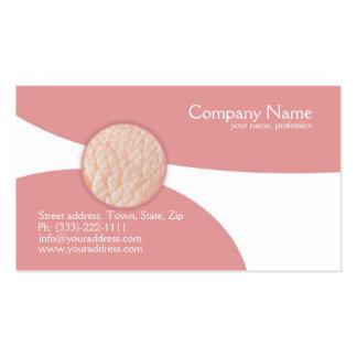 Dermatólogo - tarjeta del doctor de piel visita tarjetas de visita