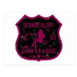 Dermatology Diva League 1983 Postcards