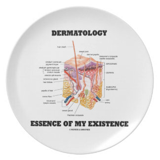Dermatology Essence Of My Existence Party Plate