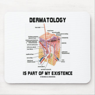 Dermatology Is Part Of My Existence (Skin Layers) Mouse Pad