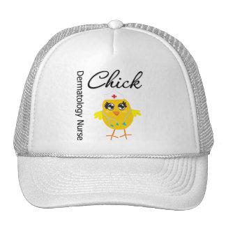 Dermatology Nurse Chick v1 Trucker Hat