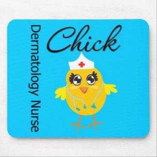 Dermatology Nurse Chick v1 Mouse Pad