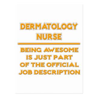 Dermatology Nurse ..  Job Description Postcard