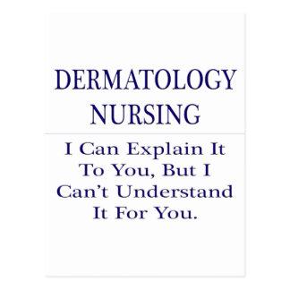 Dermatology Nursing .. Explain Not Understand Postcard
