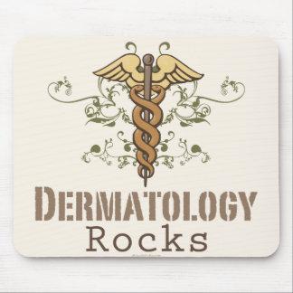 Dermatology Rocks Caduceus Mousepad