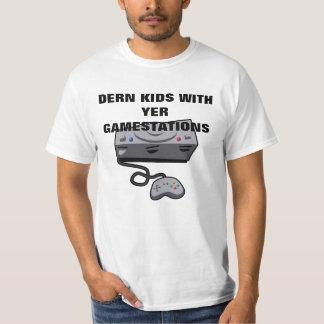 """""""DERN KIDS"""" Videogame T-Shirt"""