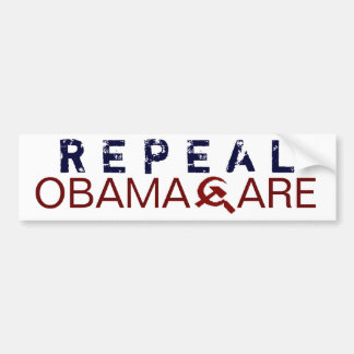 Derogación Obamacare Pegatina De Parachoque
