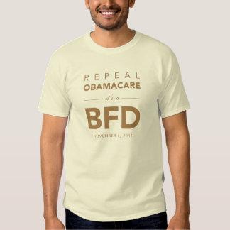 Derogación Obamacare de BFD Playera