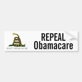 Derogación Obamacare Pegatina Para Auto