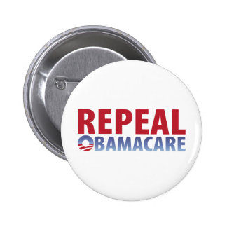 Derogación Obamacare Pin Redondo De 2 Pulgadas