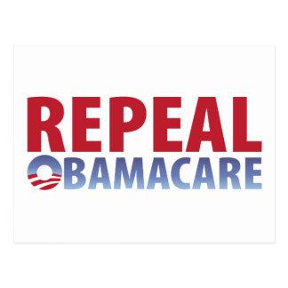 Derogación Obamacare Postal