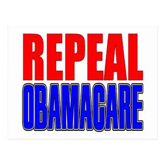 Derogación Obamacare Postales